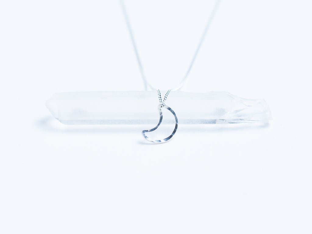 Floating Moon Pendant // Necklace