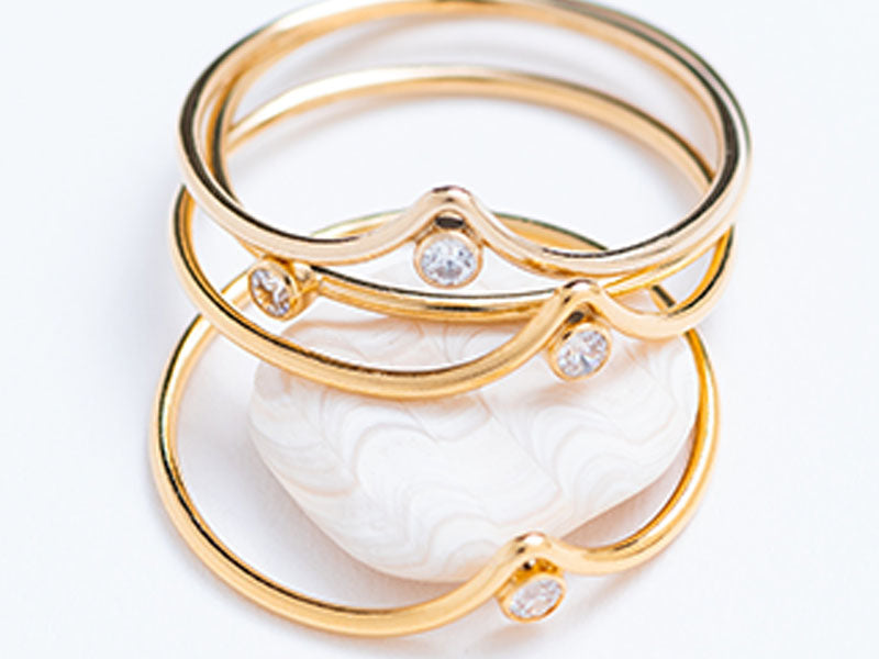 Tiara Stacking Ring