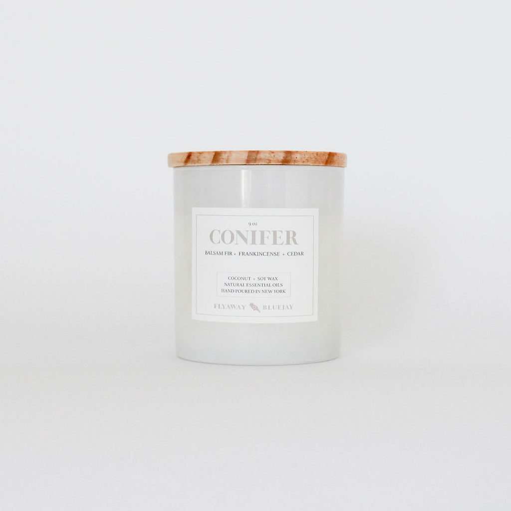 Conifer Candle