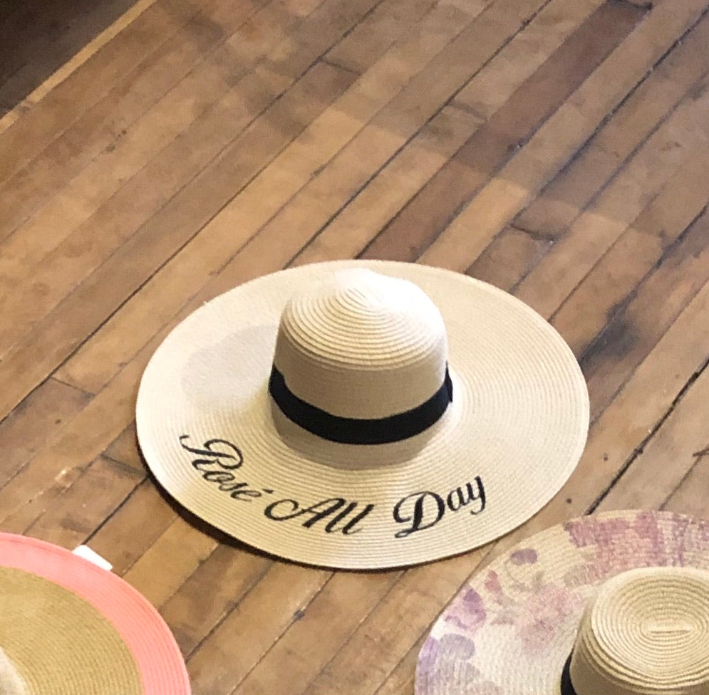 Floppy Hat Message