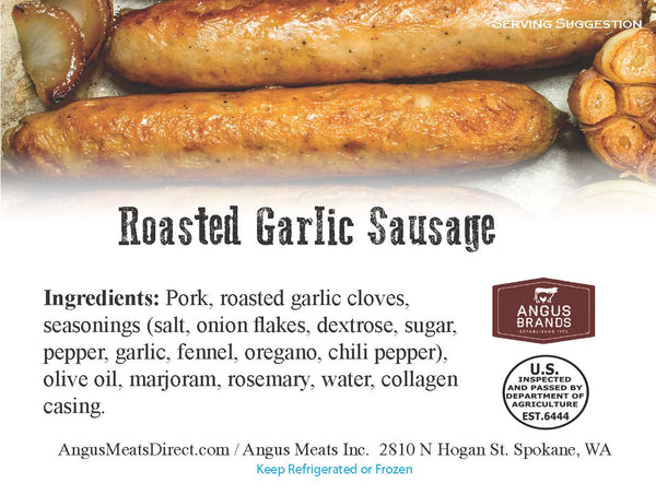 Roasted Garlic Sausage