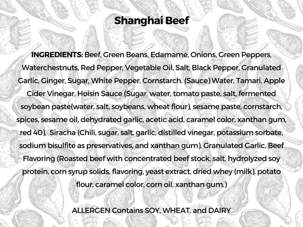 NEW Spicy Shanghai Beef