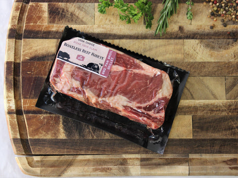 Boneless Rib-Eye Steak, USDA Choice