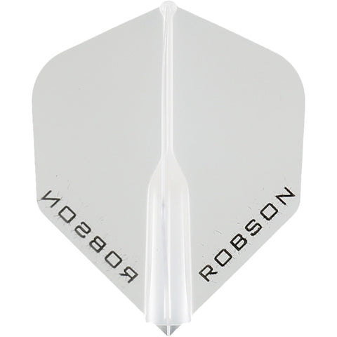 ROBSON PLUS DART FLIGHTS - STANDARD CLEAR