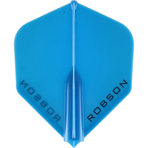 ROBSON PLUS DART FLIGHTS - STANDARD BLUE