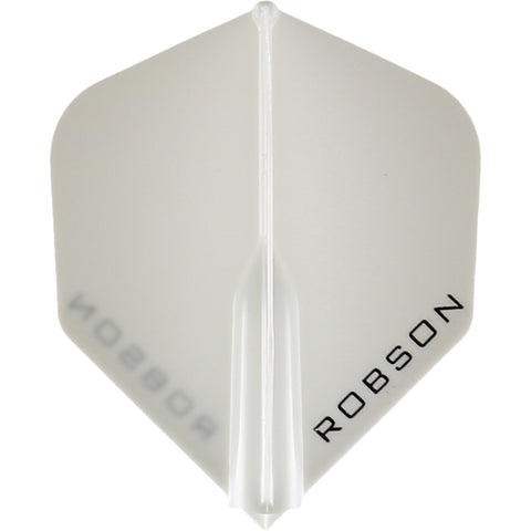 ROBSON PLUS DART FLIGHTS - STANDARD WHITE