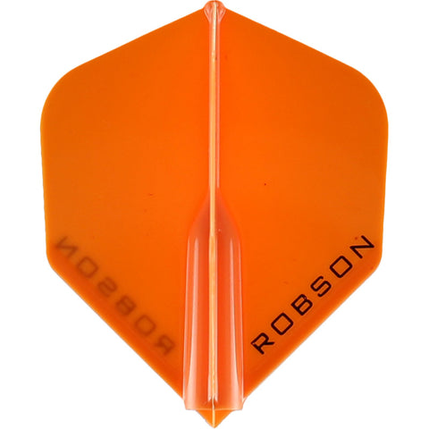 ROBSON PLUS DART FLIGHTS - STANDARD ORANGE