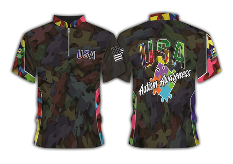 2020 Camo USA - Autism Awareness - PRE ORDER