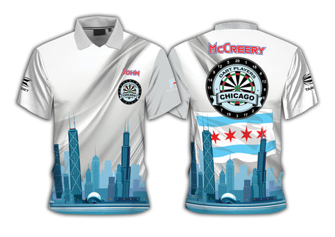 2019 Dart Players Chicago Official Tour Shirt