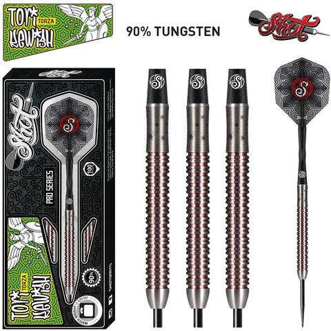 SHOT PRO SERIES TORI KEWISH STEEL TIP DARTS - 23GM