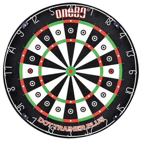 ONE80 DOT TRAINER PLUS STEEL TIP DARTBOARD