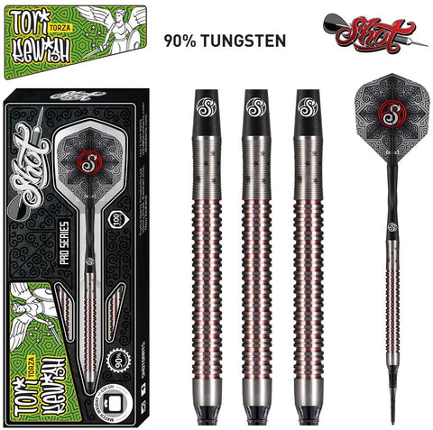 SHOT PRO SERIES TORI KEWISH SOFT TIP DARTS - 18GM
