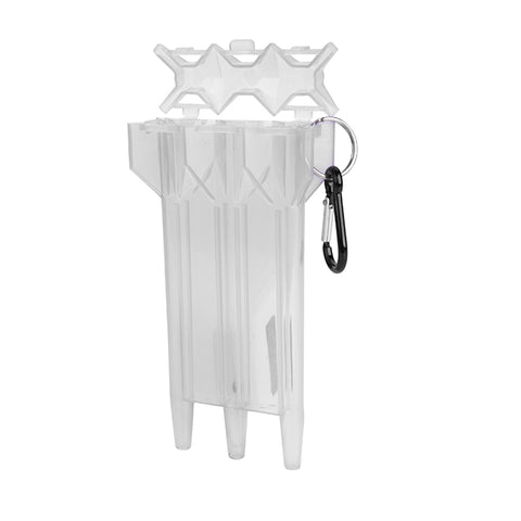 ROBSON PLUS DROP SLEEVE DART CASE - CLEAR