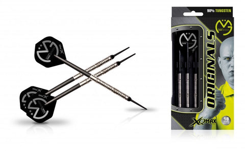 Michael van Gerwen MvG Original 90% tungsten 18gm soft tip dart set