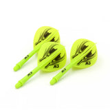 CUESOUL ROST Integrated Dart Shaft and Flights Pear-Teardrop (printed series)