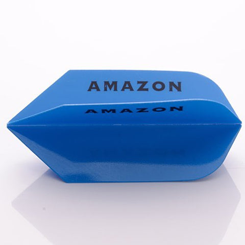3 x SETS AMAZON DARTS FLIGHTS SLIM BLUE