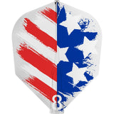 8 FLIGHT USA FLAG DART FLIGHTS - NO 6 SHAPE