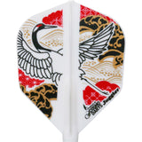 Fit Flight Juggler Japanese Crane Dart Flights - Shape