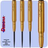 Designa Bullets Darts 85% Tungsten Steel Tip Darts