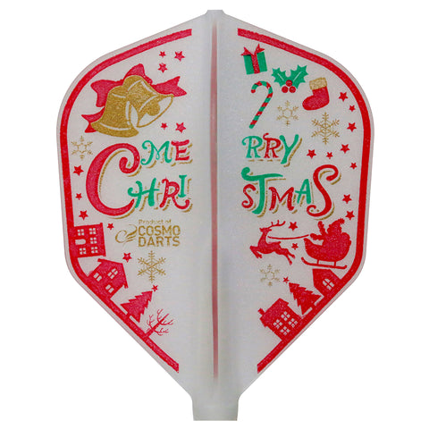 FIT FLIGHT CHRISTMAS DART FLIGHTS - SHAPE