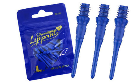 Lippoint premium Soft Tip Points - Blue