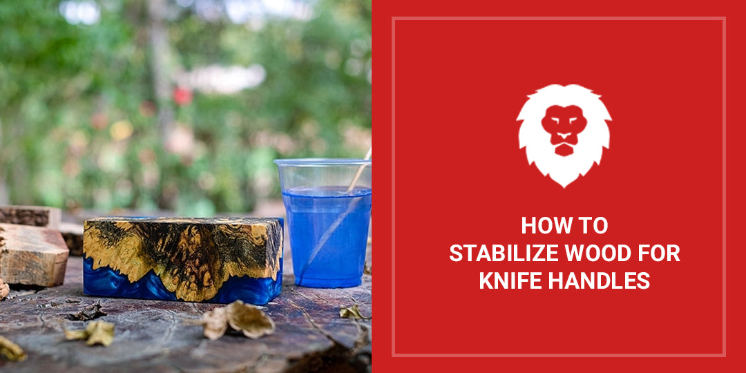 Stabilize Wood Knife Handles