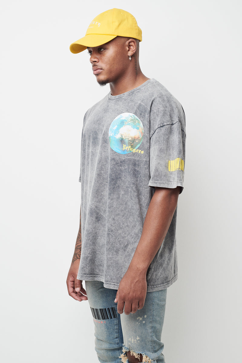 World Refugees Heavy Cotton Tee *