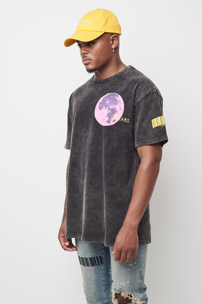 Supermoon Washed Heavy Cotton Tee V2