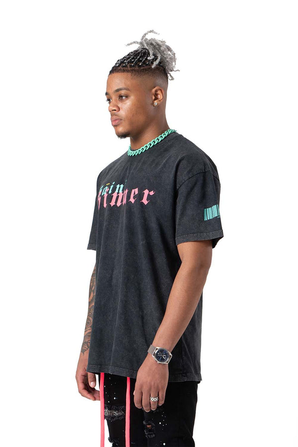 Saint Sinner Washed Heavy Cotton Tee