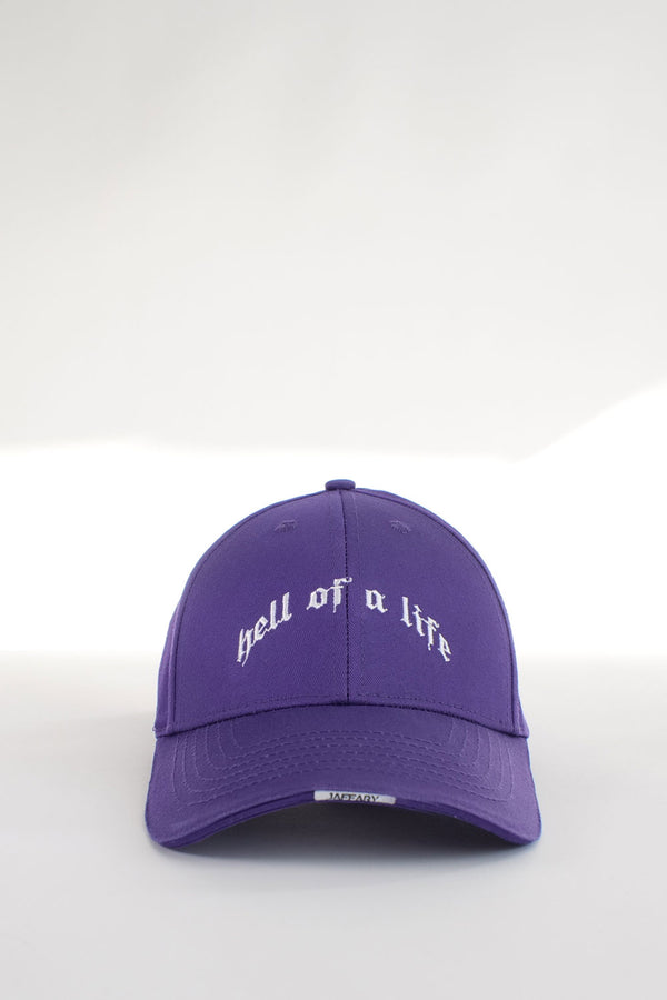 HELL OF A LIFE LOGO CAP
