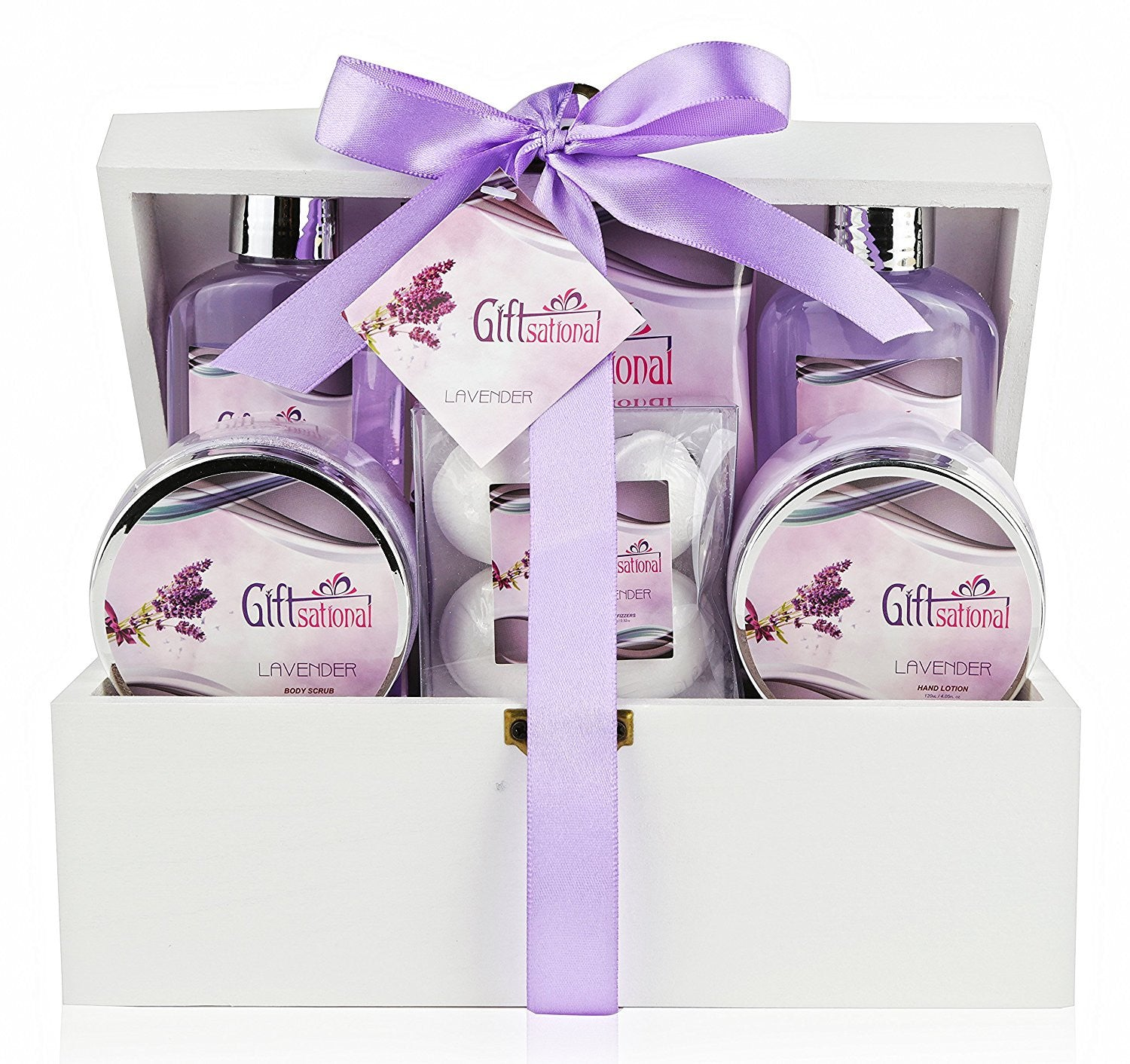 Spa Gift Basket with Sensual Lavender Fragrance - Best Wedding ...