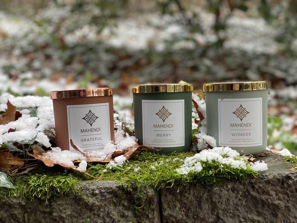 Luxury Holiday Scent Candles