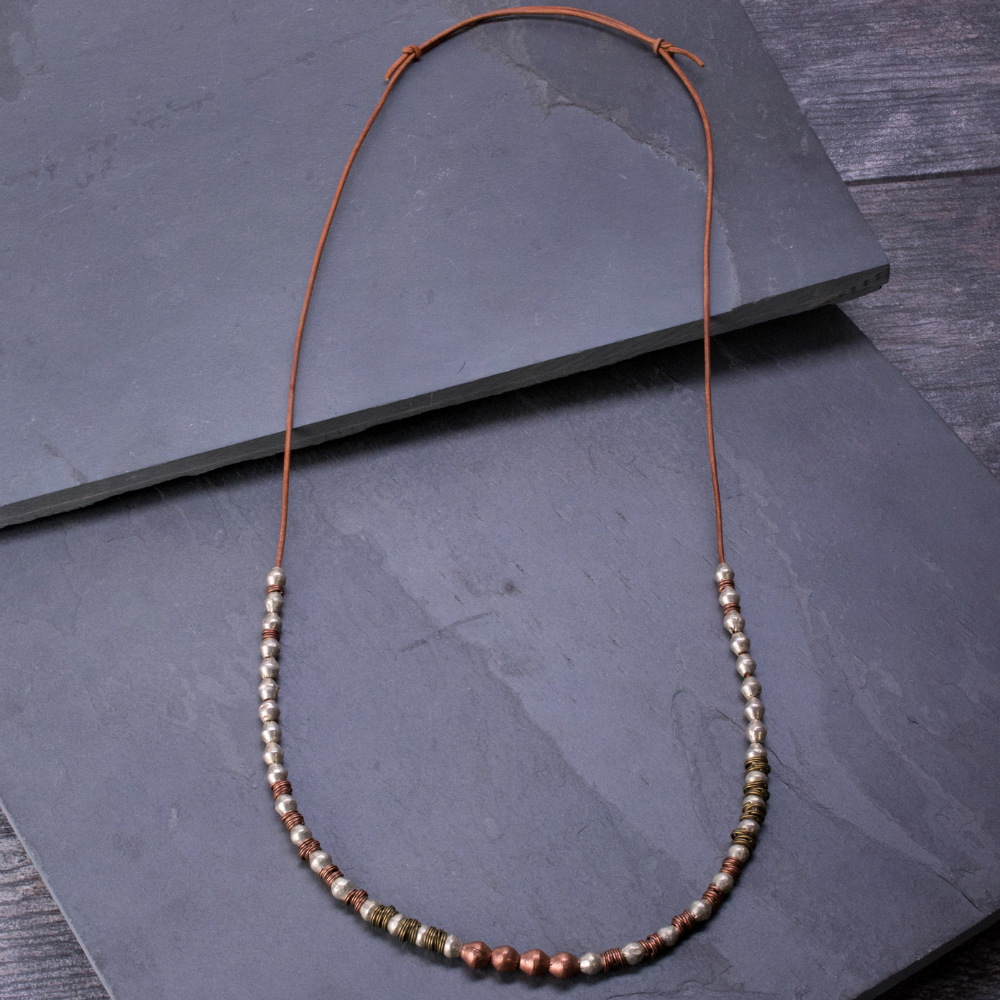 French Bailey Alloy Necklace