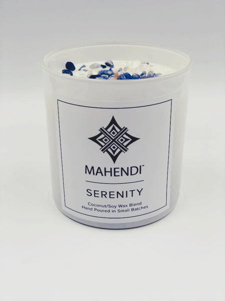 Serenity Crystal Infused Candle