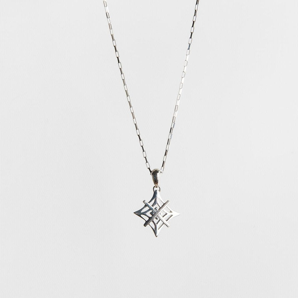 Signature Necklace Silver - Tiny Symbol
