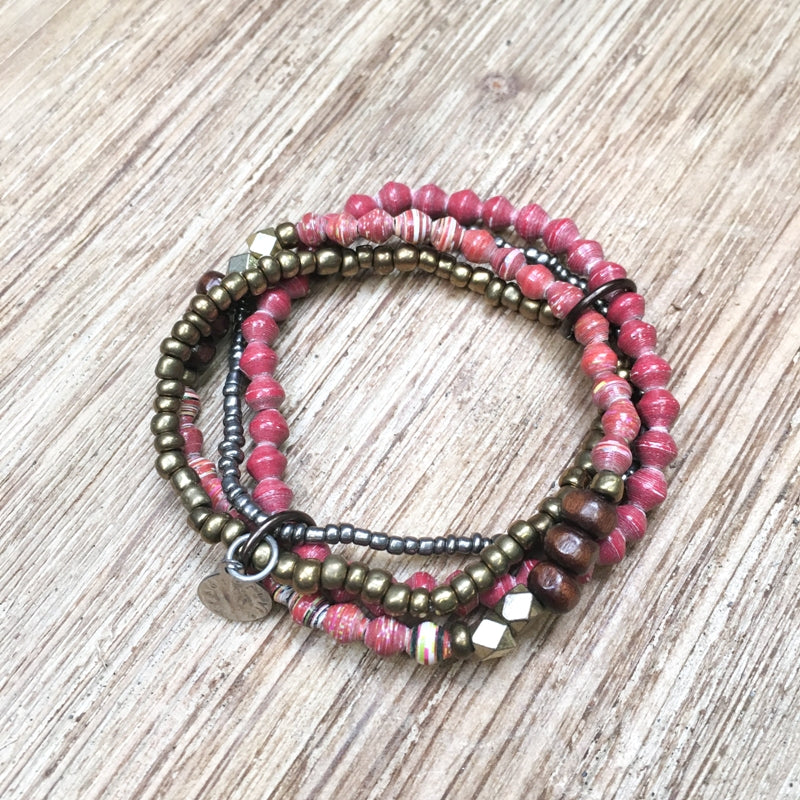 BeadforLife Confidence Bangle
