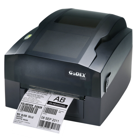 "011-G30E01-000, Godex G300 4"" 203 dpi Thermal Transfer Printer, USB, RS232, LAN - GoZob.com"