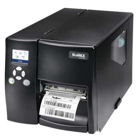"011-23iF01-000, Godex EZ2350i  4"" Thermal Transfer Printer Color Display, 300 dpi, 5 ips, USB (D/H), RS232, Ethernet - GoZob.com"
