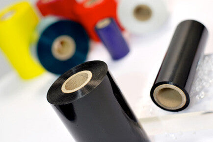 Armor T15730ZA, 48 Rolls, 3.27 in X 1181 ft, AXR 7+ Black Thermal Ribbon for ZEBRA TLP 20xx Series - Eclipse Printers - GoZob.com