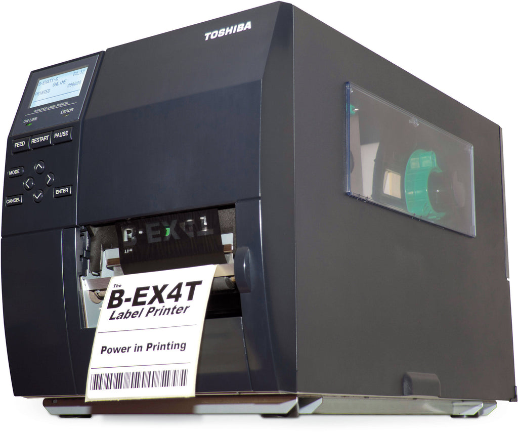 BEX4T1GS12DM01 - Toshiba Barcode Label Printer Near Edge - GoZob.com