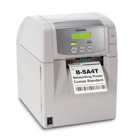 B-SA4TP-GS12-QM-R, Toshiba B-SA4 Plastic Thermal Transfer/Direct Thermal printer - GoZob.com