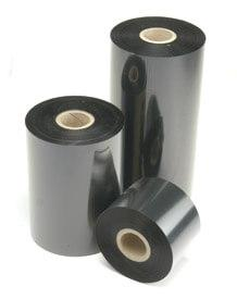 ITW B128110EOS, 24 Rolls, 4.33 in X 1476 ft, B128 Durable Wax Resin Thermal Ribbon for Zebra Printers