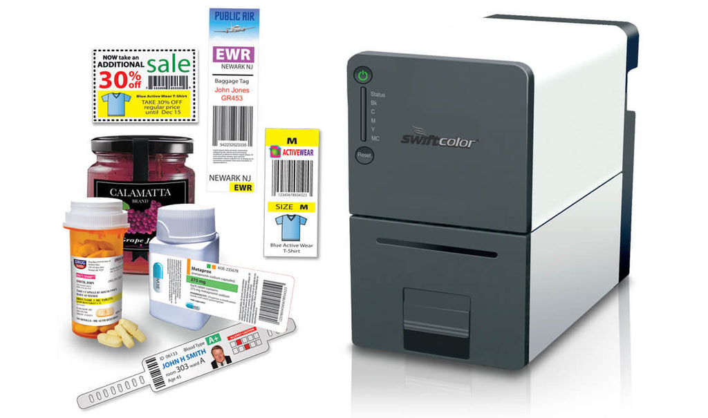 SCL-2000P SwiftColor High Speed Digital Inkjet Color Label Printer -  Pigment Based