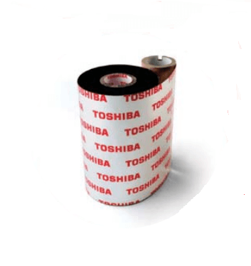 Toshiba BEX60083AS1F, 50 Rolls, 3.27 in X 1968 ft, AS1F Black Thermal Ribbon for Toshiba B-BEXxT2,6T2 Printers - GoZob.com