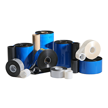 IIMAK FCE109QK, Net Color Wax/Resin, 12 Rolls, 4.29 in x 984 ft, TEC CB416, Black Thermal Ribbon - GoZob.com