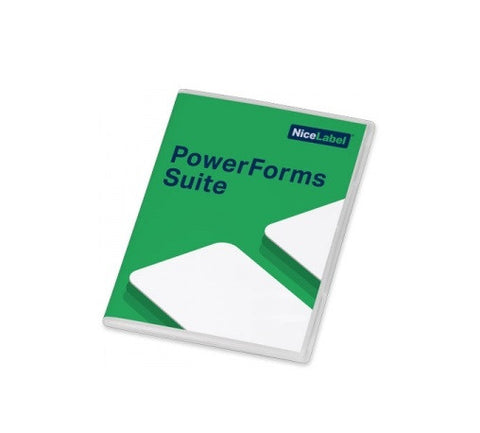 NLPSXX005S NiceLabel PowerForms Suite 2017, 5 Printers - GoZob.com