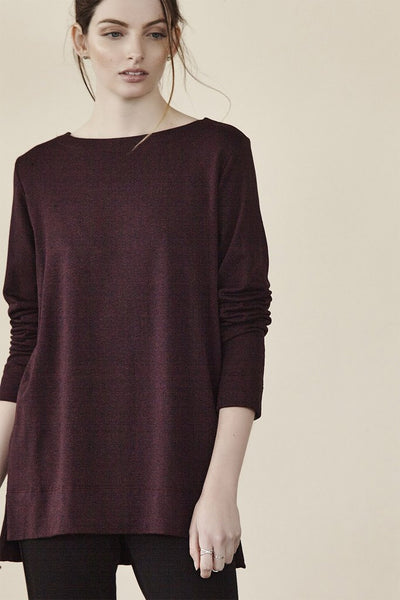 Capote - Gwen Long Sleeve Top-allforher.com