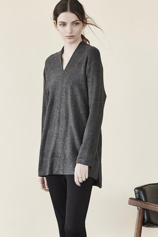 Capote - Amanda Long Sleeve Top-allforher.com