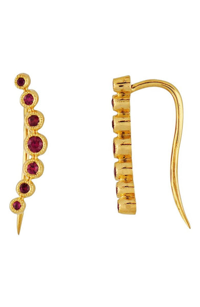 Bony Levy - Gemstone Ear Crawlers-allforher.com