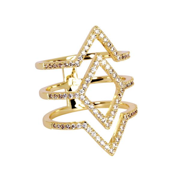 Lisa Freede - Aliza Ring in Yellow Gold-allforher.com